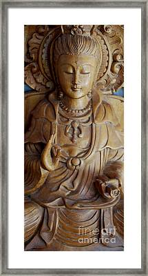 Quan Yin Compassion Framed Print by Dorothy Berry-Lound