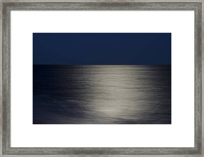 Quansoo Moon Framed Print