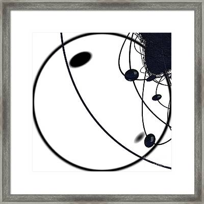 Quantum Dust By Jammer Framed Print by First Star Art
