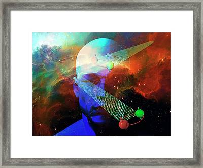 Quantum Information Framed Print by Carol & Mike Werner