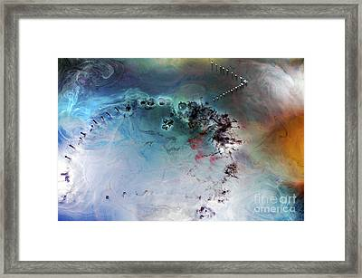 Quantum Leap Framed Print by Petros Yiannakas