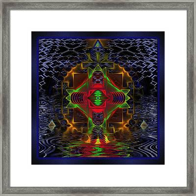 Quantum Mystery Framed Print