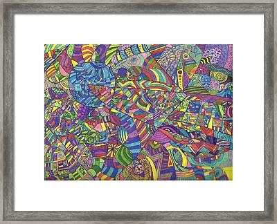 Quantum Qarma Framed Print by Ty DAvila