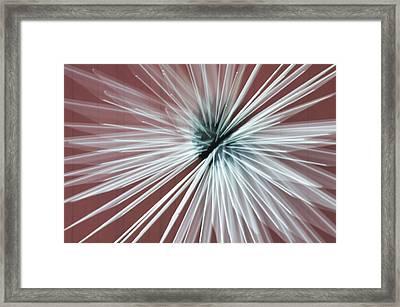 Quantum Sculpture Framed Print