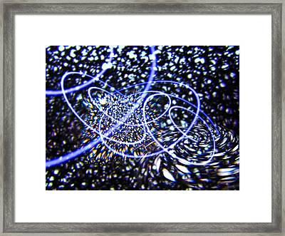 Quantum Vacuum, Conceptual Artwork Framed Print by Science Photo Library