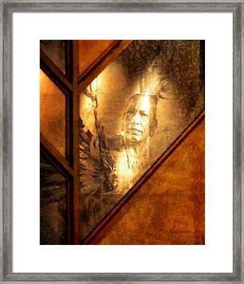 Quapaw Pride Framed Print by Deena Stoddard