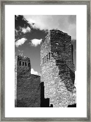 Quarai At Salinas Pueblos Mission Nm Framed Print