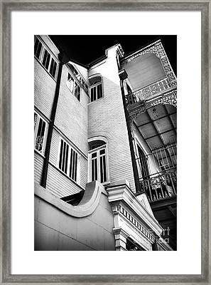 Quarter Angles Framed Print by John Rizzuto