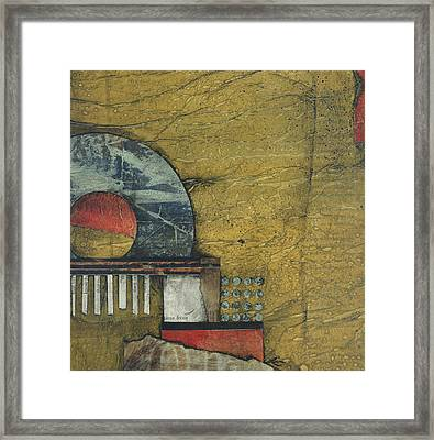 Quarter Circle  Framed Print