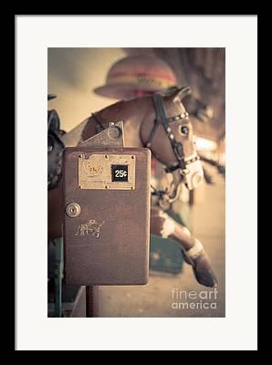 Pony Rides Framed Prints