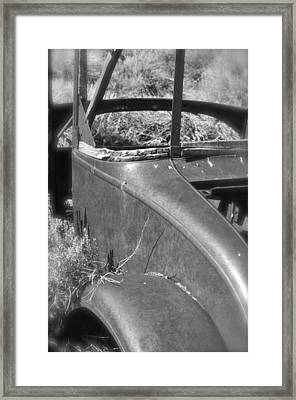 Quarter Panel Framed Print by Shelley Ewer