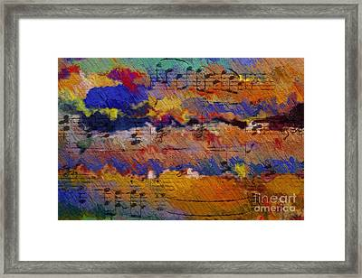 Framed Print featuring the digital art Quartexture 1 by Lon Chaffin
