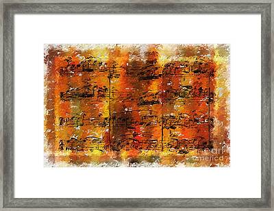 Framed Print featuring the digital art Quartexture 2 by Lon Chaffin
