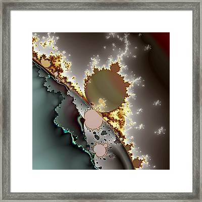Quartic Byways No. 1 Framed Print by Mark Eggleston