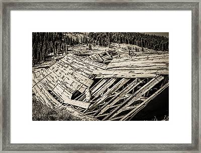 Quartz Mountain 29 Framed Print by YoPedro