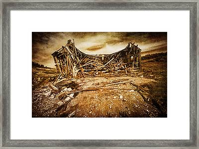 Quartz Mountain 9 Framed Print