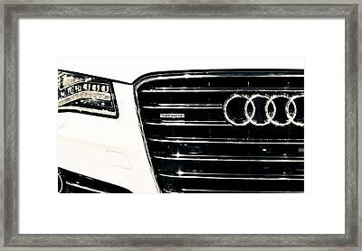 Quattro 3 Framed Print by Ronda Broatch