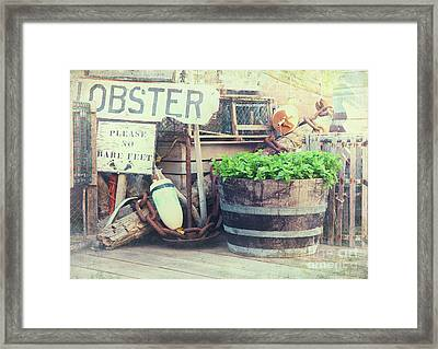 Quayside Framed Print by Jane Rix