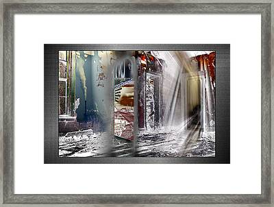 Framed Print featuring the photograph Que Sera Sera by Thomas Bomstad