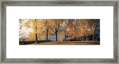 Quebec City Quebec Canada Framed Print