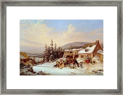 Quebec Framed Print