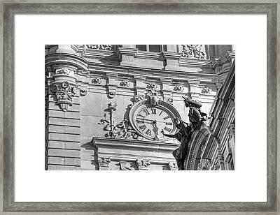 Quebec Parliament Building  Quebec Framed Print
