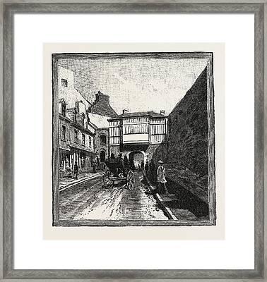 Quebec, Prescott Gate, Canada Framed Print