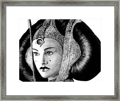 Queen Amidala Framed Print