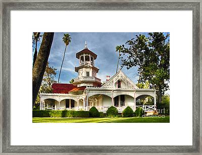 Queen Anne Cottage Framed Print