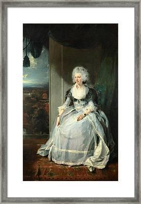 Queen Charlotte Framed Print