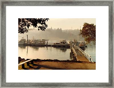 Queen City Yacht Club Winslow Outstation Framed Print by Jack Pumphrey