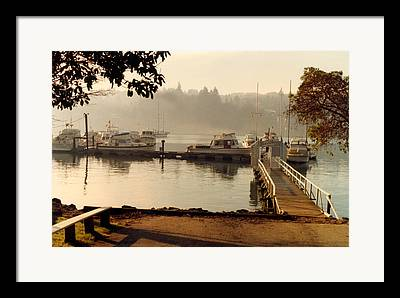 The Grand 14 Of Seattle Area Yacht Clubs Framed Prints