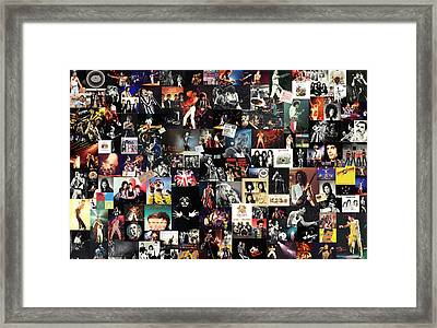 Queen Collage Framed Print by Taylan Apukovska
