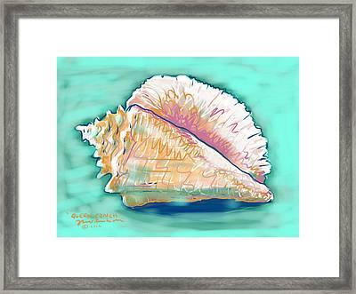 Queen Conch Framed Print