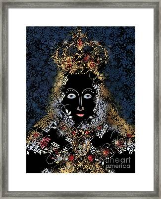 Queen Eliza Portrait Framed Print by Aimelle
