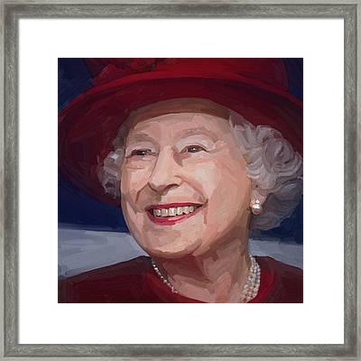 Queen Elizabeth II Framed Print
