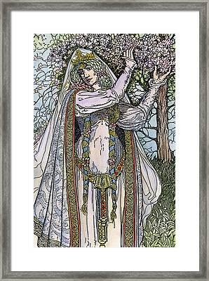 Queen Guinevere, 1923 Framed Print by Granger