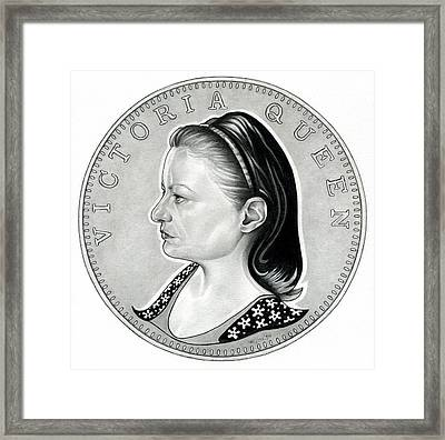 Queen Jude Victoria Framed Print by Fred Larucci
