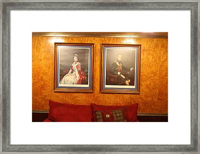 Queen Mary - 121221 Framed Print by DC Photographer