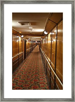 Queen Mary - 121222 Framed Print by DC Photographer