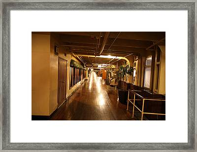Queen Mary - 121233 Framed Print by DC Photographer