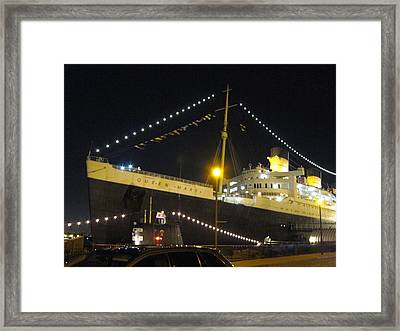 Queen Mary - 12126 Framed Print by DC Photographer