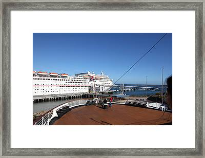 Queen Mary - 12128 Framed Print by DC Photographer