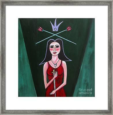 Queen Mary Magdalene Framed Print