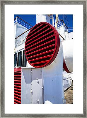 Queen Mary Red Vent Framed Print by Garry Gay