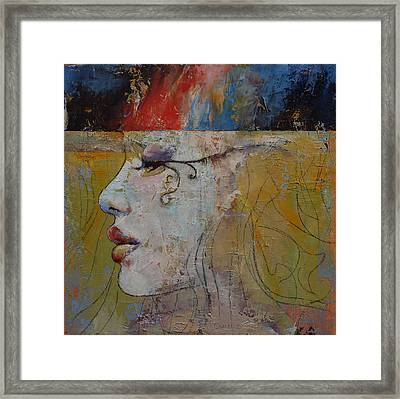 Queen Framed Print by Michael Creese
