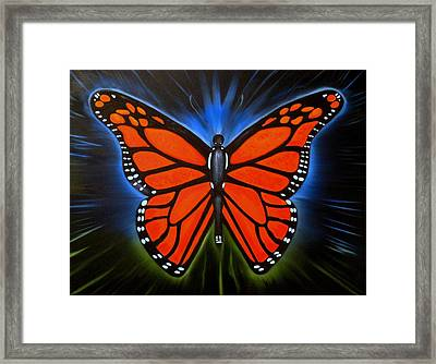 Queen Monarch Framed Print by RJ McNall