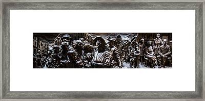 Queen Mothers Memorial Plaque Framed Print