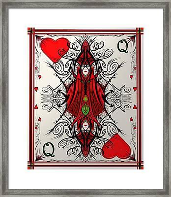 Queen Of Arts Framed Print
