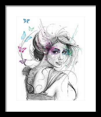 Butterfly Framed Prints
